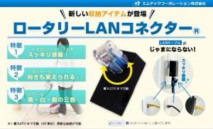 Rotary LAN Connector - ロータリー LAN コネクター